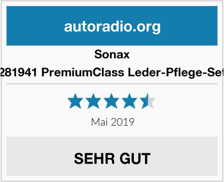 Sonax 281941 PremiumClass Leder-Pflege-Set Test