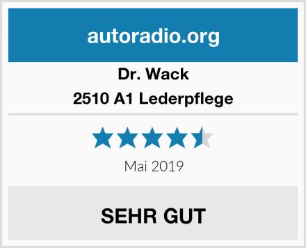 Dr. Wack 2510 A1 Lederpflege Test