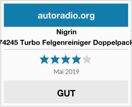 Nigrin 74245 Turbo Felgenreiniger Doppelpack Test