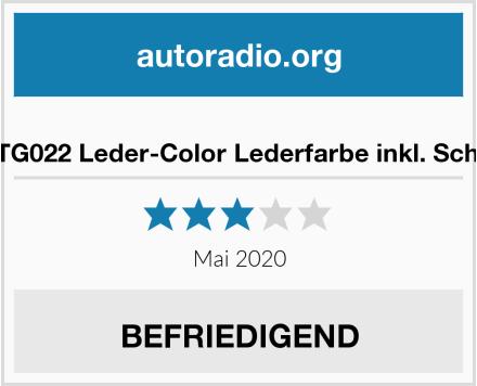 ATG ATG022 Leder-Color Lederfarbe inkl. Schwamm Test