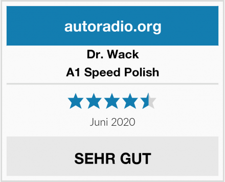 Dr. Wack A1 Speed Polish Test