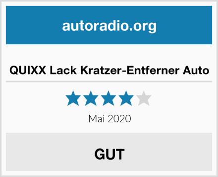 QUIXX Lack Kratzer-Entferner Auto Test