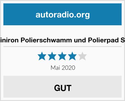 Winiron Polierschwamm und Polierpad Set Test