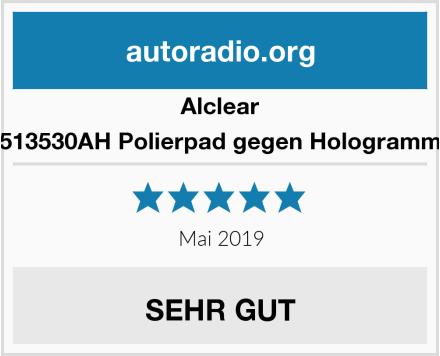 Alclear 5513530AH Polierpad gegen Hologramme Test