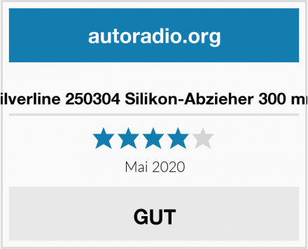 Silverline 250304 Silikon-Abzieher 300 mm Test