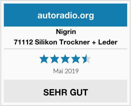 Nigrin 71112 Silikon Trockner + Leder Test