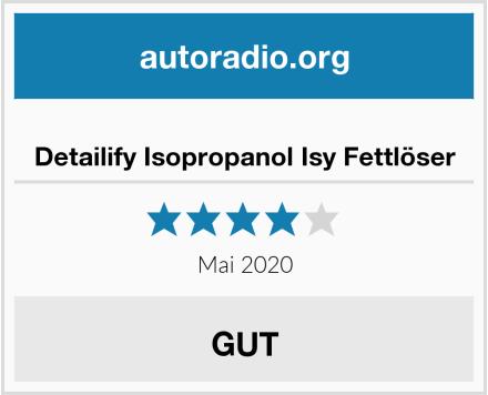 Detailify Isopropanol Isy Fettlöser Test