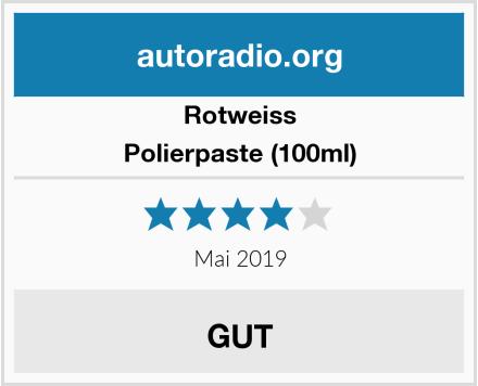 Rotweiss Polierpaste (100ml) Test