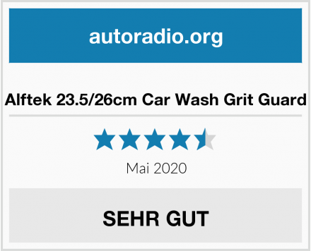 Alftek 23.5/26cm Car Wash Grit Guard Test