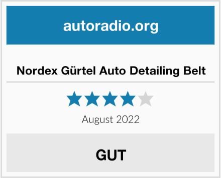 Nordex Gürtel Auto Detailing Belt Test