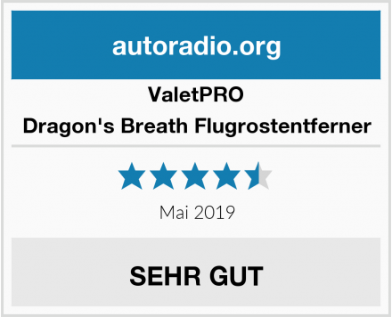 ValetPRO Dragon's Breath Flugrostentferner Test