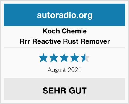 Koch Chemie Rrr Reactive Rust Remover Test
