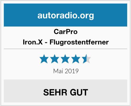 CarPro Iron.X - Flugrostentferner Test