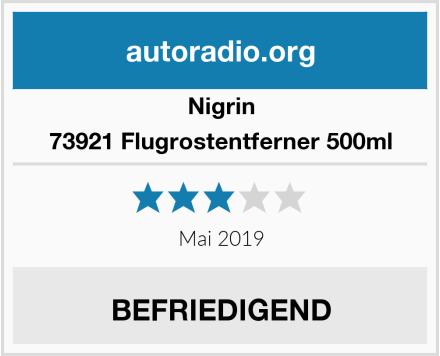 Nigrin 73921 Flugrostentferner 500ml Test
