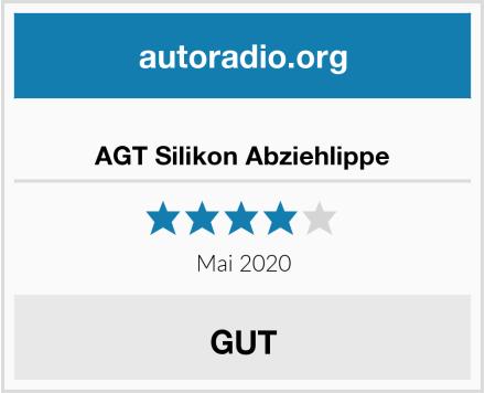 AGT Silikon Abziehlippe Test