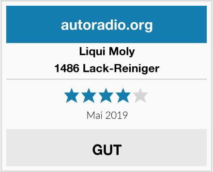 Liqui Moly 1486 Lack-Reiniger Test