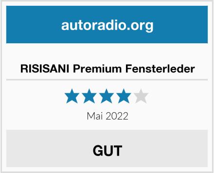 RISISANI Premium Fensterleder Test