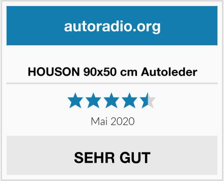 HOUSON 90x50 cm Autoleder Test