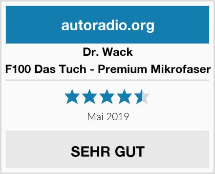 Dr. Wack F100 Das Tuch - Premium Mikrofaser Test
