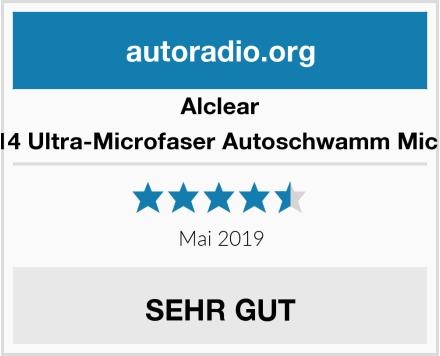 Alclear 950014 Ultra-Microfaser Autoschwamm Microcar Test