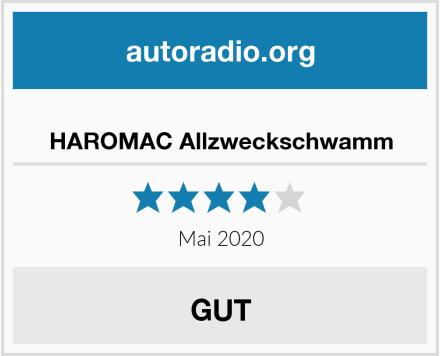 HAROMAC Allzweckschwamm Test