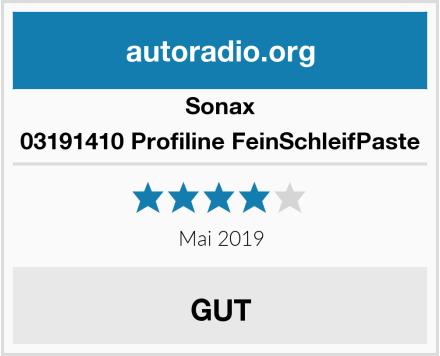 Sonax 03191410 Profiline FeinSchleifPaste Test