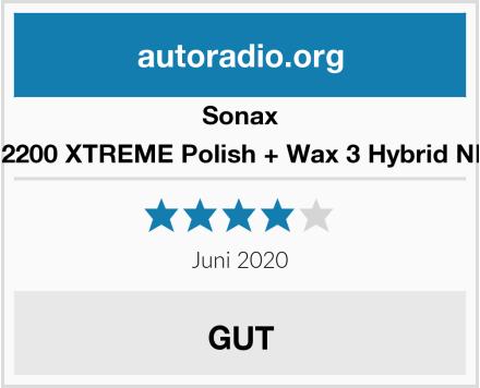 Sonax 202200 XTREME Polish + Wax 3 Hybrid NPT Test