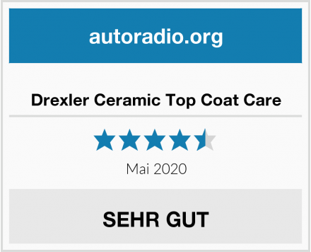Drexler Ceramic Top Coat Care Test