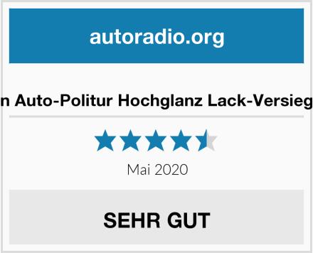 carron Auto-Politur Hochglanz Lack-Versiegelung Test