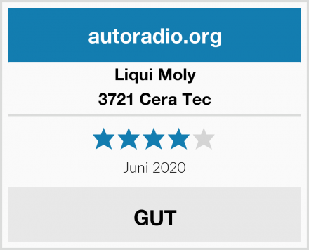 Liqui Moly 3721 Cera Tec Test