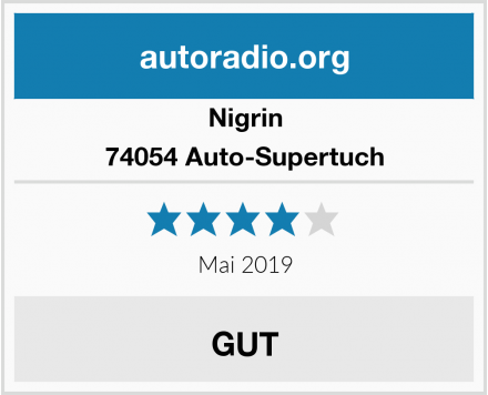 Nigrin 74054 Auto-Supertuch Test