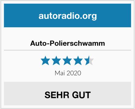 Auto-Polierschwamm Test