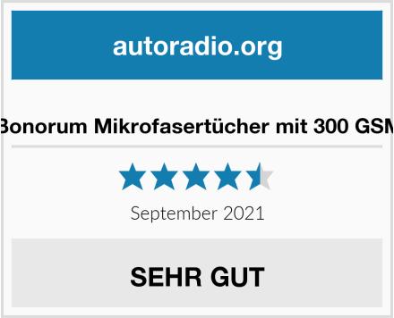 Bonorum Mikrofasertücher mit 300 GSM Test