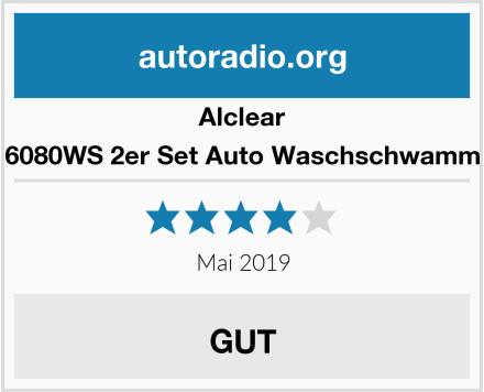 Alclear 6080WS 2er Set Auto Waschschwamm Test