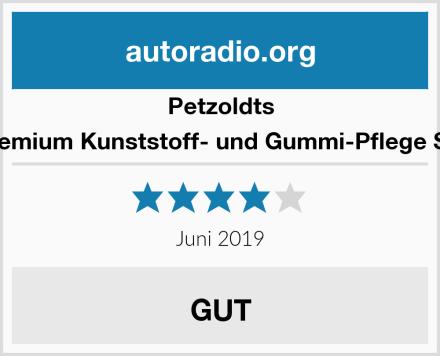 Petzoldts Premium Kunststoff- und Gummi-Pflege Set Test