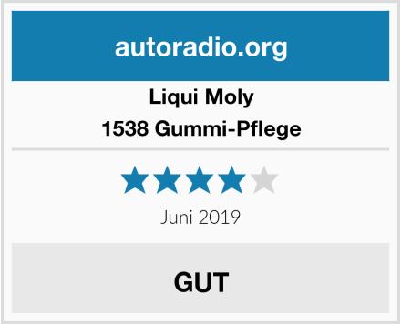 Liqui Moly 1538 Gummi-Pflege Test