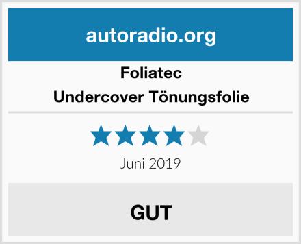 Foliatec Undercover Tönungsfolie Test