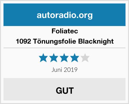 Foliatec 1092 Tönungsfolie Blacknight Test