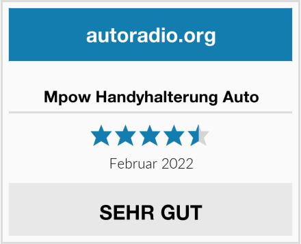 Mpow Handyhalterung Auto Test