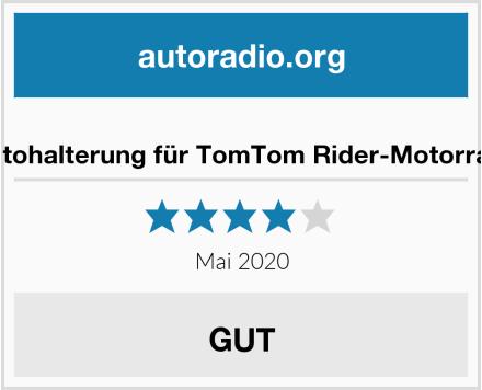 TomTom-Autohalterung für TomTom Rider-Motorradnavigation Test