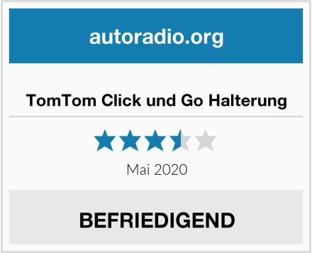 TomTom Click und Go Halterung Test