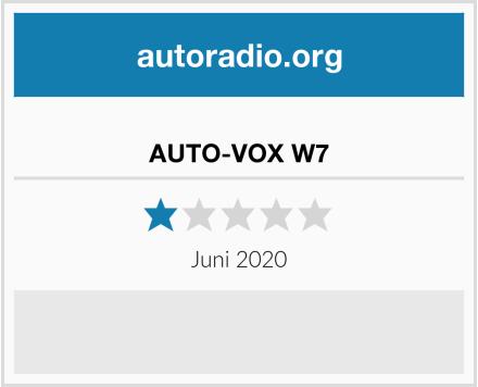 AUTO-VOX W7 Test