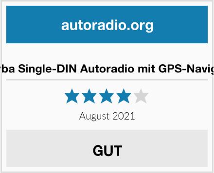 micarba Single-DIN Autoradio mit GPS-Navigation Test