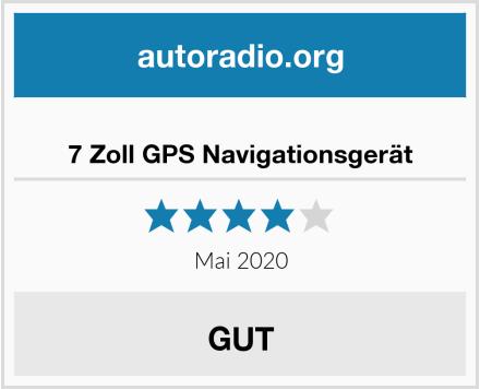 7 Zoll GPS Navigationsgerät Test
