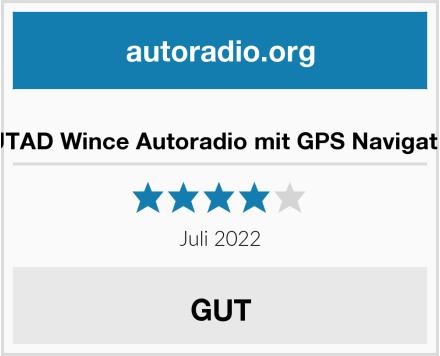 OUTAD Wince Autoradio mit GPS Navigation Test