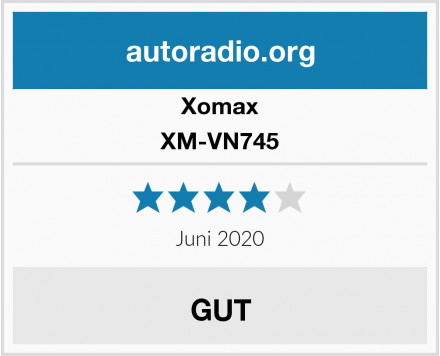 Xomax XM-VN745 Test