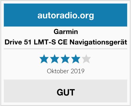 Garmin Drive 51 LMT-S CE Navigationsgerät Test