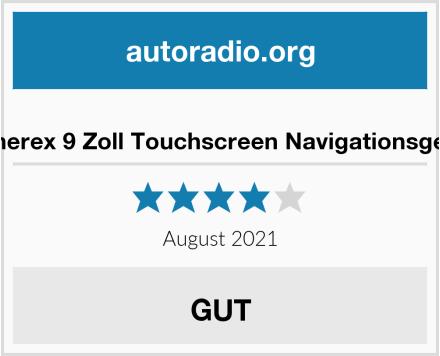 Aonerex 9 Zoll Touchscreen Navigationsgerät Test