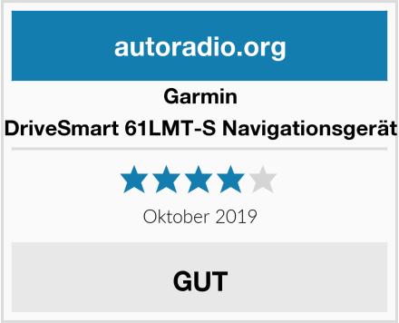 Garmin DriveSmart 61LMT-S Navigationsgerät Test