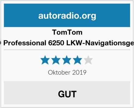 TomTom GO Professional 6250 LKW-Navigationsgerät Test